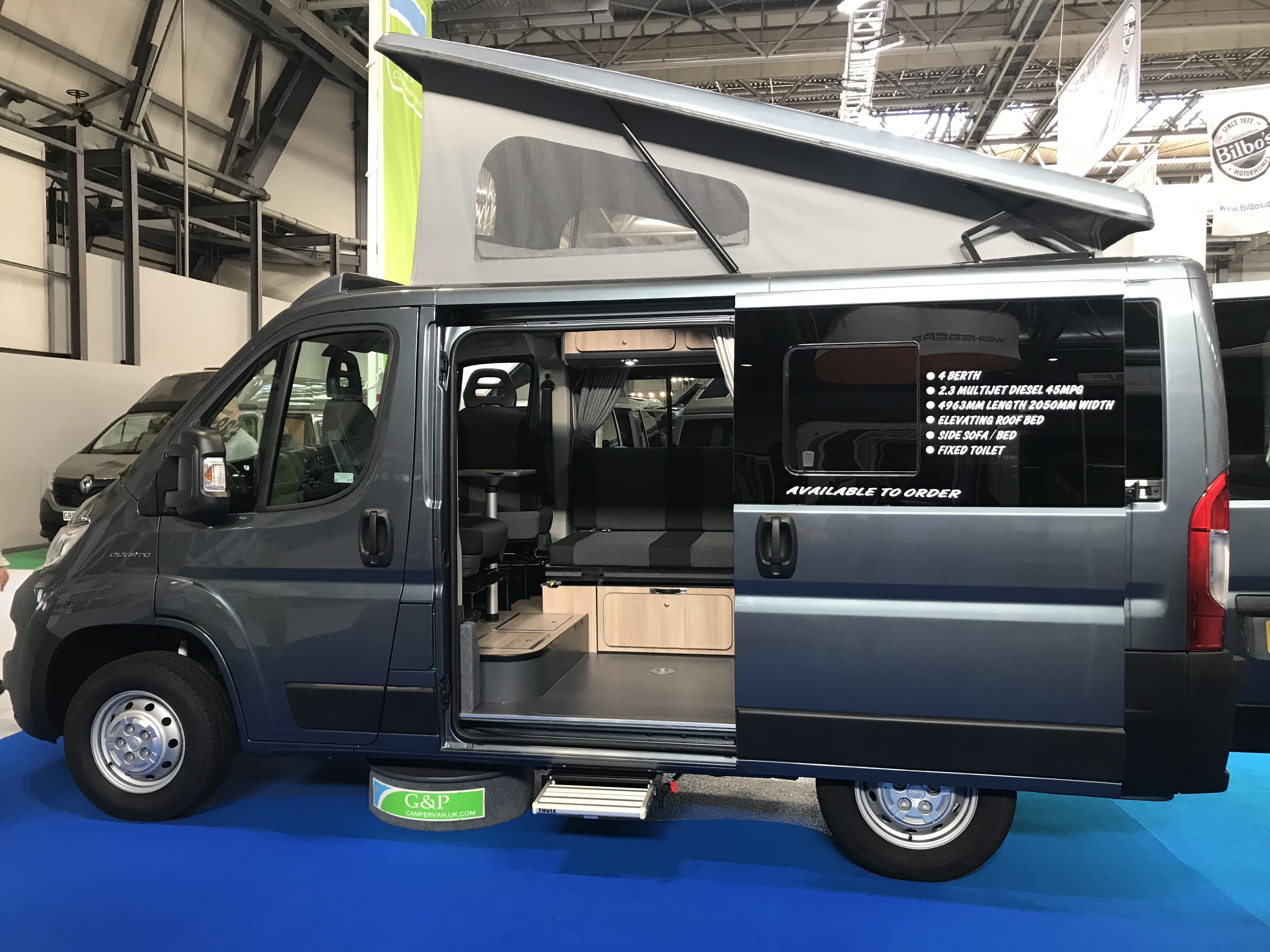 Campervan Conversions Specialist Staffordshire, UK